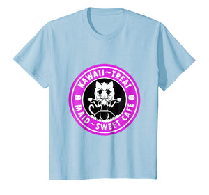 kawaii- treat maid- sweet cafe tshirt