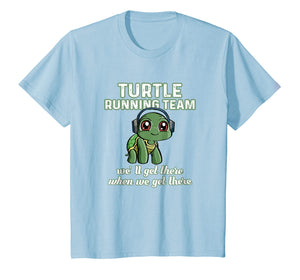 TURTLE Running Team Music SHIRT Turtle Lover Tee