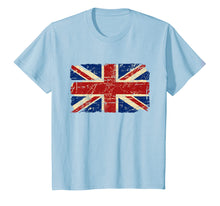 Load image into Gallery viewer, Union Jack Tshirt UK Tee Great Britain England T-shirt