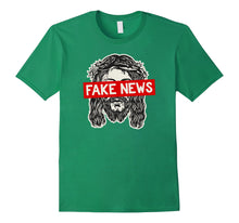 Load image into Gallery viewer, Atheist, Anti Religion T-Shirt: Religion is Fake News Shirt