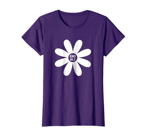 Alzheimer's Awareness T-Shirt - Purple End ALZ #ENDALZ