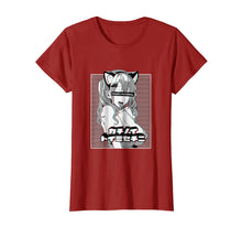 Load image into Gallery viewer, Ahegao face t shirt lewd anime shirt and neko cosplay gift