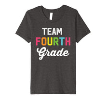 Load image into Gallery viewer, Team 4th Fourth Grade Teacher Back To School Shirt Top