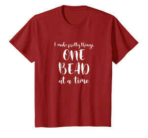 Beaders Beading Tshirt One Bead At A Time