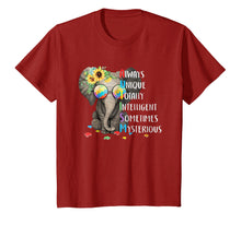 Load image into Gallery viewer, autism awareness - elephant Tshirt