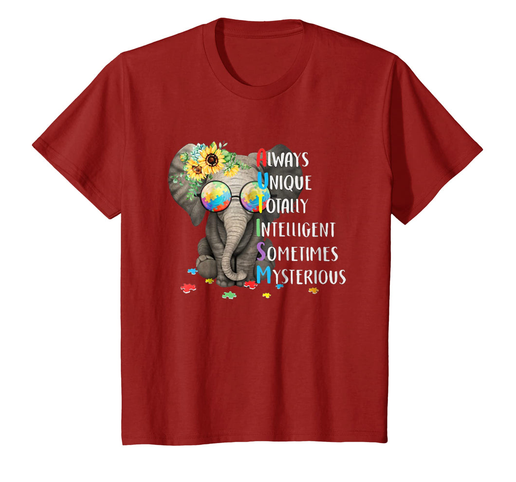 autism awareness - elephant Tshirt
