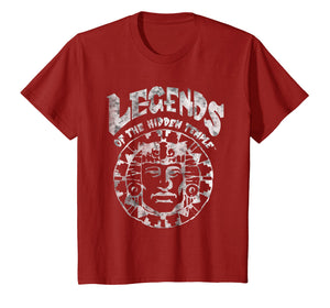 Legends Of The Hidden Temple Classic Logo Graphic T-Shirt
