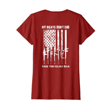 Load image into Gallery viewer, 2nd Amendment Feelings America USA Patriotic Funny T-Shirt