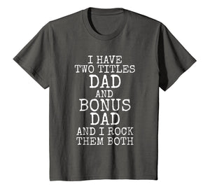 Awesome Stepdad Gift Bonus Dad Shirt for Step Dads Gift Tee