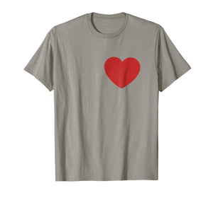 Tin Man Heart T-Shirt Halloween Costume Tee