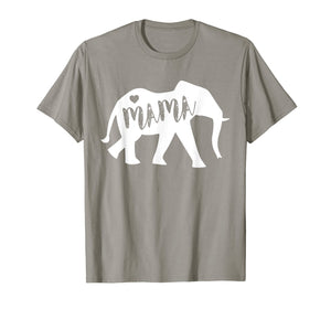 Mama Africa Elephant T-Shirt - Cute Mothers Day Gift For Mom