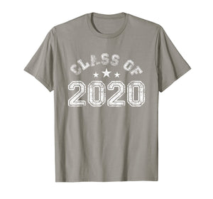 Vintage First Day Class Of 2020 Back To School T-Shirt Gifts