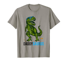 Load image into Gallery viewer, Daddysaurus T Shirt T rex Daddy Saurus-Dad Fathers Day Gift
