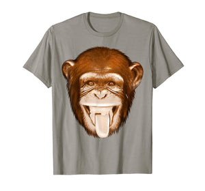 Monkey Face Shirt | Cute Gag Monkey Face T-shirt Gift