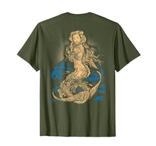 Load image into Gallery viewer, Mermaid Shirt Vintage Tattoo Ink Veteran Pin Up Girl Sexy