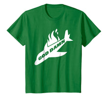 Load image into Gallery viewer, Jets Shirt God Dam Funny New York Football