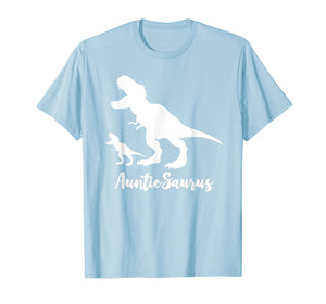 AuntieSaurus Rex Tee - Perfect T-Shirt For An Aunt.