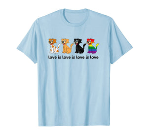 Love Is Love Is Love Dogs T-Shirt