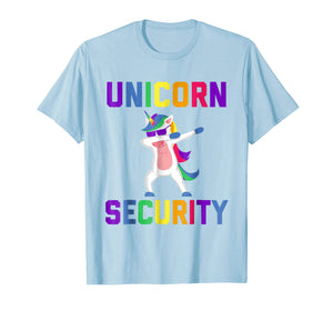 Unicorn Security Funny Gift T-Shirt