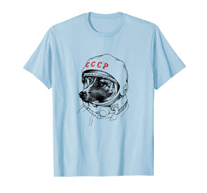Laika, Space Traveler Dog T Shirt