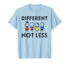 Load image into Gallery viewer, Different Not Less T-Shirt Support Autism Awareness Gifts