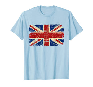Union Jack Tshirt UK Tee Great Britain England T-shirt