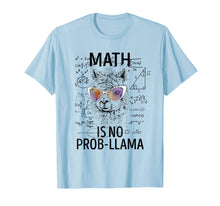 Load image into Gallery viewer, Math Is No Prob-Llama Funny Gifts TShirts