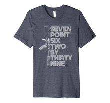 Load image into Gallery viewer, 7.62x39 Seven Point Six Two by 39 AK47 Rifle T-shirt