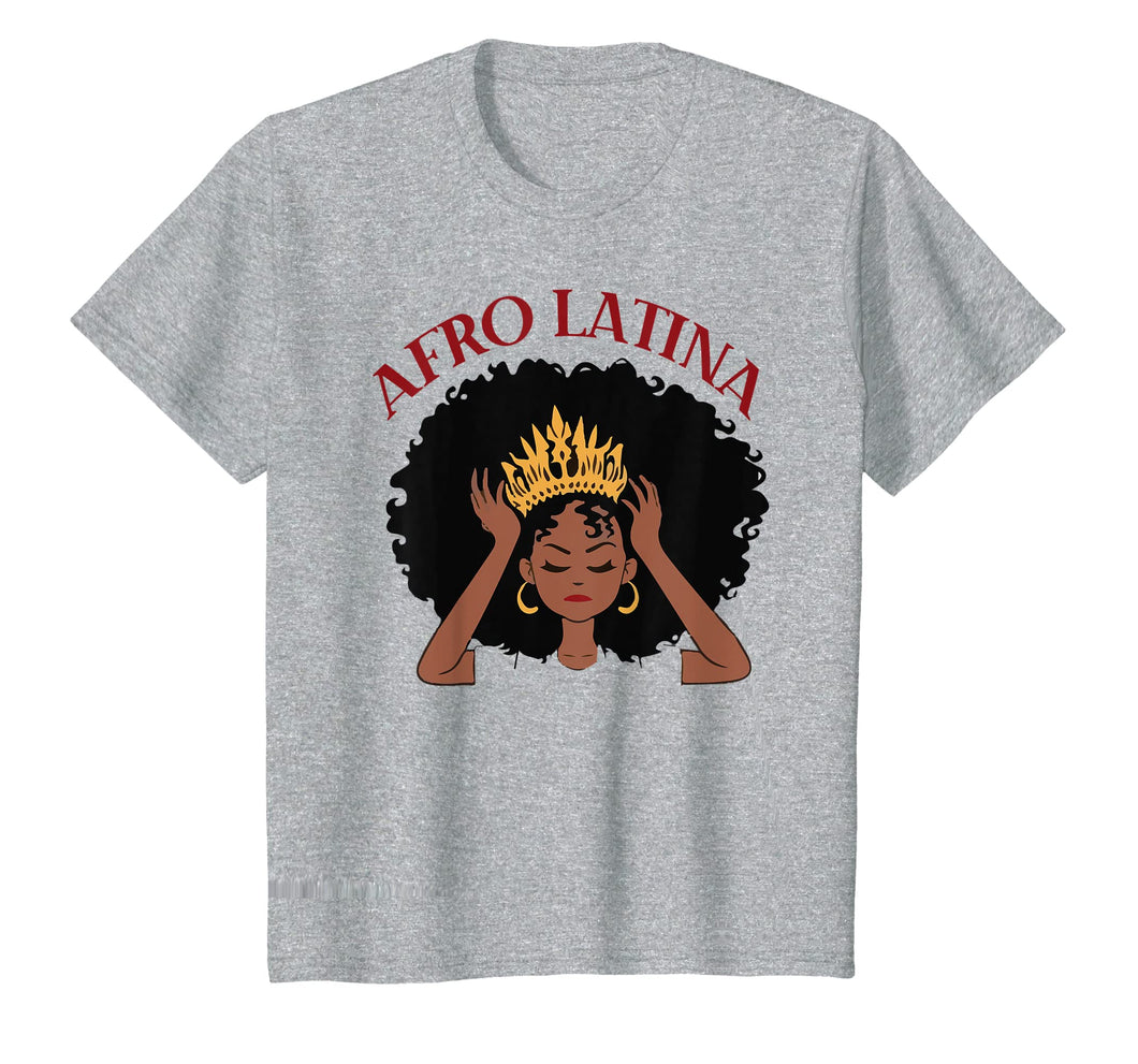 Black Women Afro Latina Black History Month Tshirt Gifts