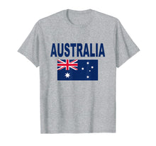 Load image into Gallery viewer, Australia Flag T-Shirt Cool Australian Aussie Flags Top Tee