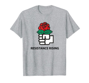 Democratic Socialists of America (DSA) Resistance Rising Tee