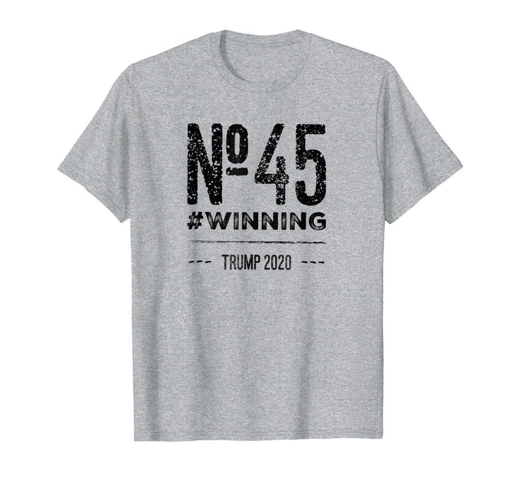 No. 45 #WINNING TRUMP 2020 T-Shirt