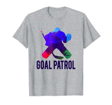 Load image into Gallery viewer, Goal Patrol Hockey Shirt | Cool Ice Hockey Goalie Gift