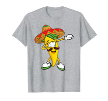 Load image into Gallery viewer, Dabbing Yellow Chili Pepper Mexican Hot Dab Shirt
