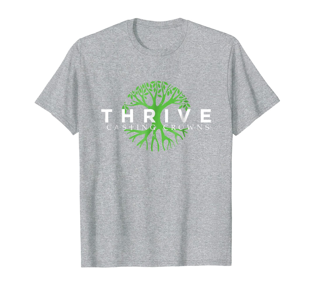Tree Green Casting Thrive T-shirt Crowns Perfect