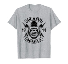 Load image into Gallery viewer, Jiu Jitsu The Ground Is My Safe Space Gorilla T-Shirt