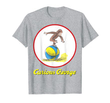 Load image into Gallery viewer, Curious George Having A Ball On The Beach Graphic T-Shirt