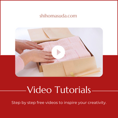 Japanese style gift wrapping video tutorials