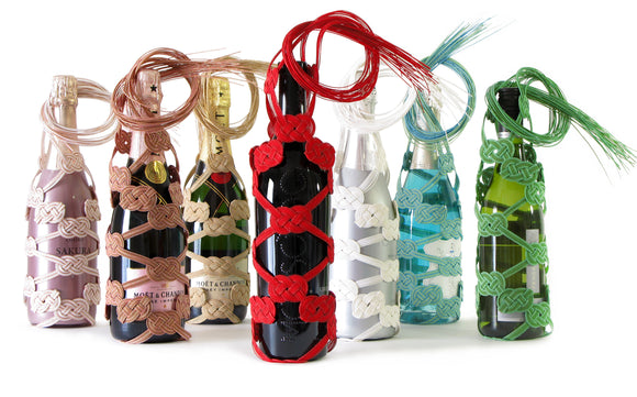 Mizuhiki Art Bottle Bag