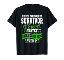 Afbeelding in Gallery-weergave laden, Kidney Transplant T Shirt Organ Recipient Survivor Gift