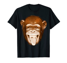 Afbeelding in Gallery-weergave laden, Monkey Face Shirt | Cute Gag Monkey Face T-shirt Gift