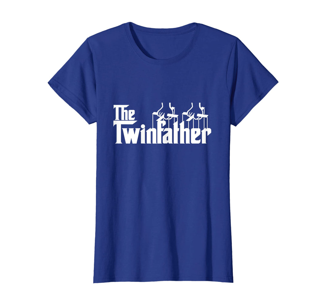 Funny Twin Dad Fathers Day Gift Twinfather t shirt for men