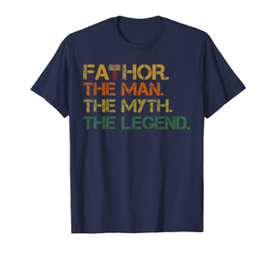 fa-thor The Man The Myth The Legend Father's Day Gif T-Shirt