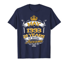 Afbeelding in Gallery-weergave laden, May 1993 T-Shirt 26th Birthday Gift 26 Years Old T-shirt