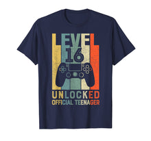 Afbeelding in Gallery-weergave laden, Level 16 Unlocked Official Teenager 16th Birthday Shirt