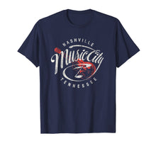 Afbeelding in Gallery-weergave laden, Nashville Music City USA Vintage T-shirt