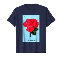 Afbeelding in Gallery-weergave laden, Mexican Loteria Tshirts - La Rosa T Shirt
