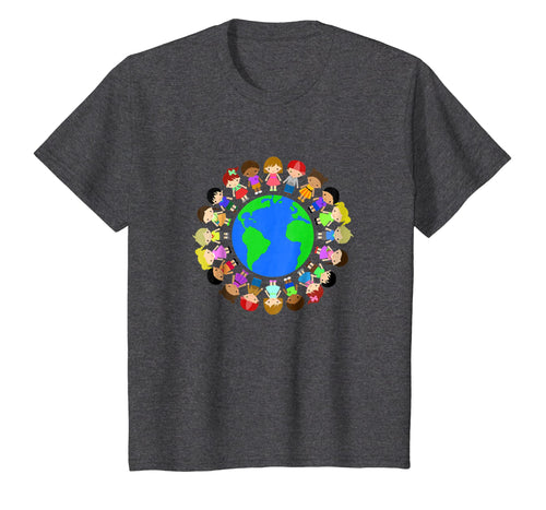 Happy Earth Day T shirt Gift,Children Around The World Shirt