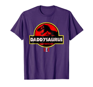 Funny Father's Day Gift Idea - Daddysaurus Rex T-Shirt