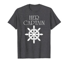 Afbeelding in Gallery-weergave laden, Mens Funny Cruise Her Captain His Anchor Couple Shirt